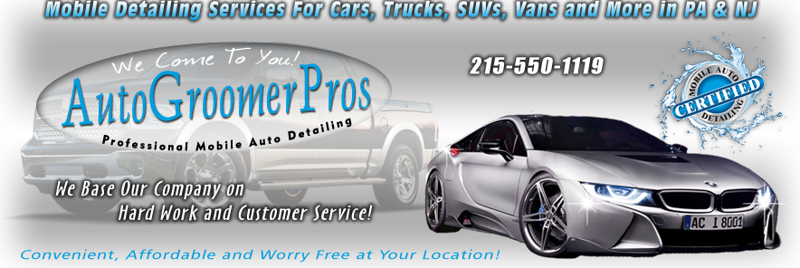Mobile auto car detailing service auto cars trucks suv vans auto groomer pros mobile auto detailing services pa solutioingenieria Images